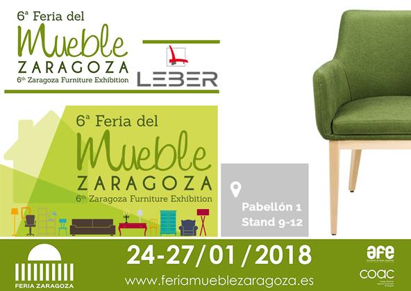 Feria del mueble zaragoza 24 27 enero 2018 leber fornitures for Feria outlet zaragoza