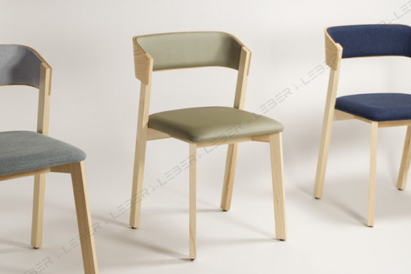 Silla Wally Leber Fornitures diseño en madera