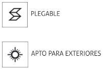 plegable