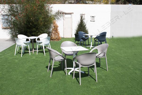 0eca02e5d14d Sillón kyo de resina - Mobiliario Hosteleria Leber Fornitures