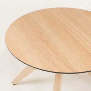 Mesa Pruc auxiliar de madera mobiliario hosteleria