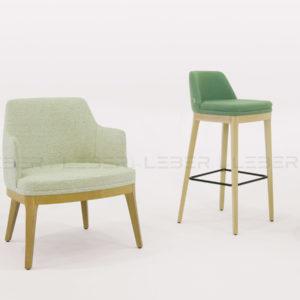 Juls mobiliario tapizado para restaurante
